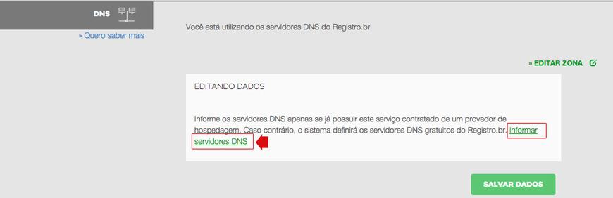 dns passo 4 registro.br
